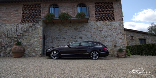 MB CLS Shooting Brake Seitenlinie