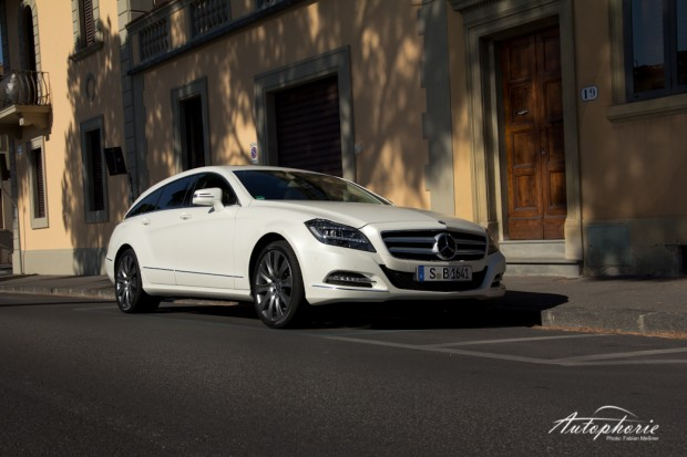 Mercedes-Benz CLS 350 BlueEfficency Shooting Brake Nahaufnahme