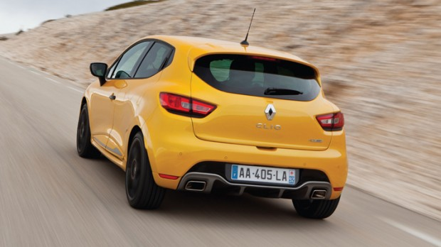 2013_Renault_Clio_RS_200_Heck