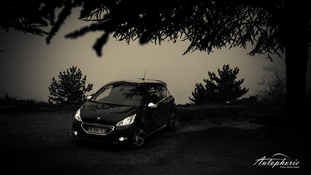 Peugeot_208_GTi_Nebel_Wald