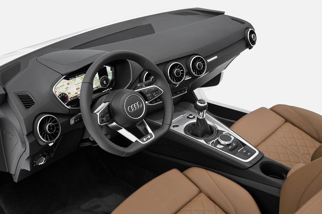 CES 2014: Audi zeigt neues TT Interieur - Autophorie.de
