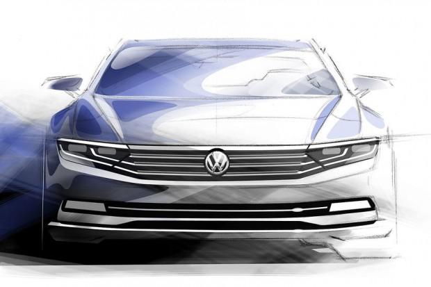 VW-Passat-2014-achte-generation-design-skizze (1)