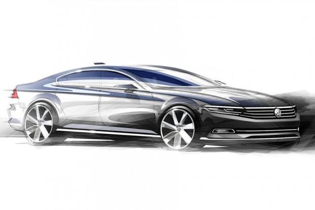 VW-Passat-2014-achte-generation-design-skizze (2)