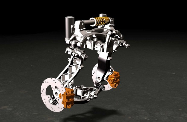 Technische Darstellung des DTW Concept (Peugeot)