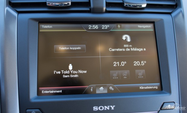 Ford Mondeo SYNC 2