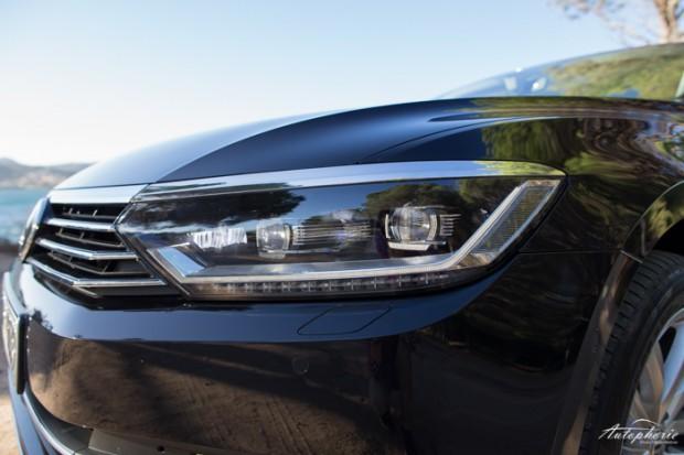 In Highline serienmäßig: Voll-LED Scheinwerfer