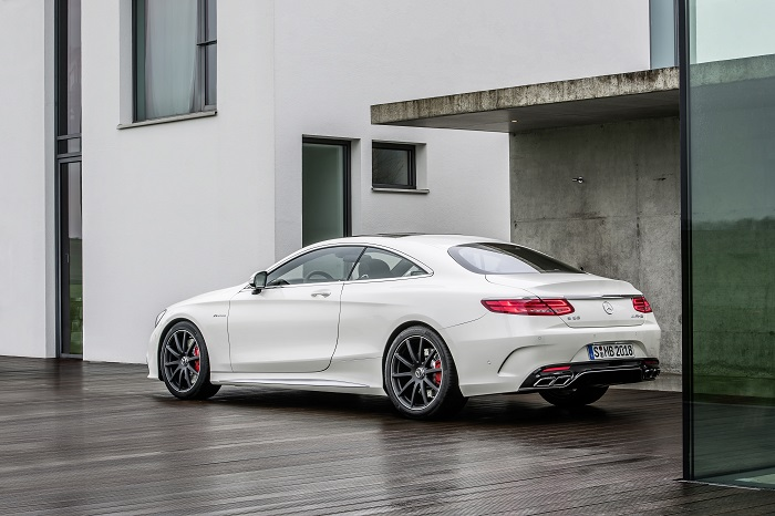 Mercedes S Coupe Tuning Chromleiste Tuning