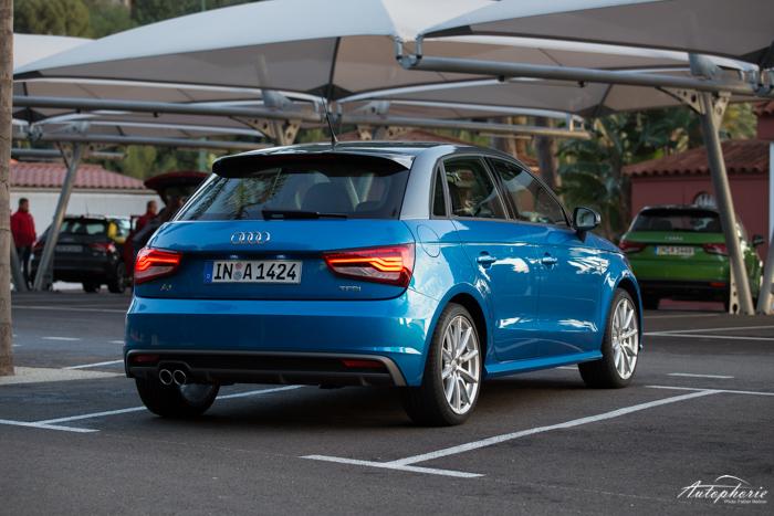 Schon Gefahren Audi A1 Sportback 1 4 Tfsi Cylinder On
