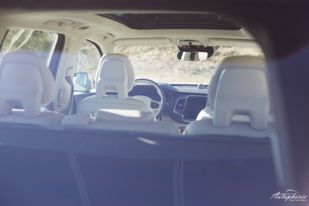 Viel Licht im Innenraum des neuen Volvo XC90