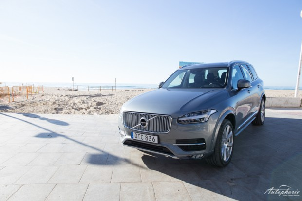 Volvo XC90 T6 AWD Frontansicht