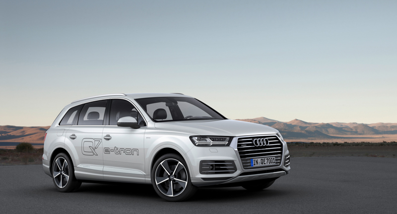 audi q7 e tron 3 0 tdi quattro. Black Bedroom Furniture Sets. Home Design Ideas