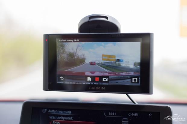Dashcam-Video Garmin nüviCam