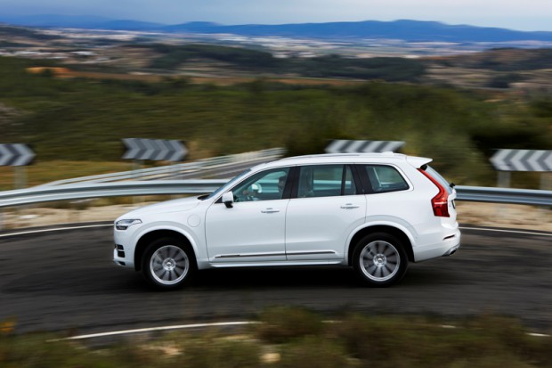 The new Volvo XC90 T8 Twin Engine petrol plug-in hybrid driven i
