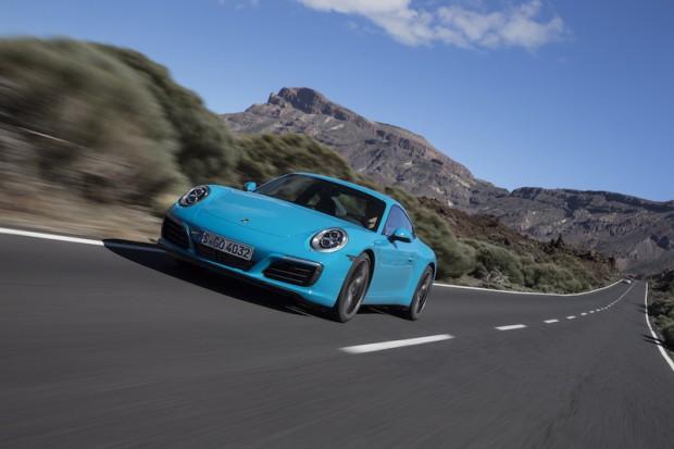 Porsche 911 Carrera S Miami Blau