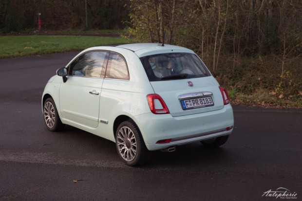 Fiat 500 Lounge Test