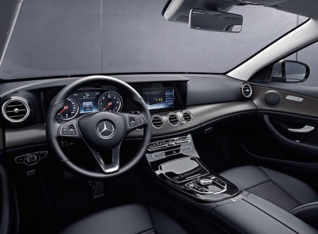 Mercedes Benz W213 Innenraum Serienausführung