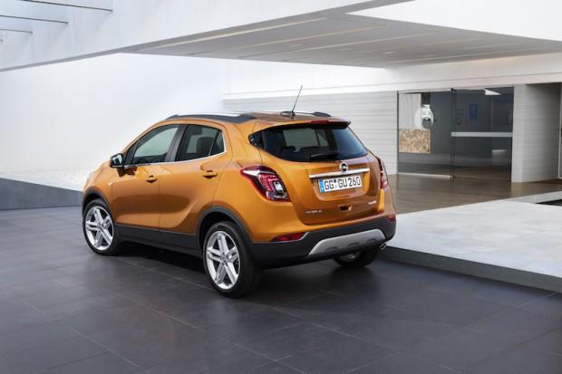 Opel Mokka X Heck