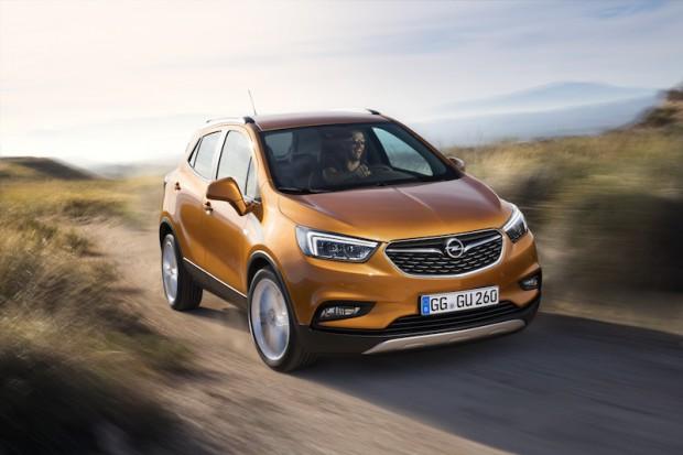Opel Mokka X Front