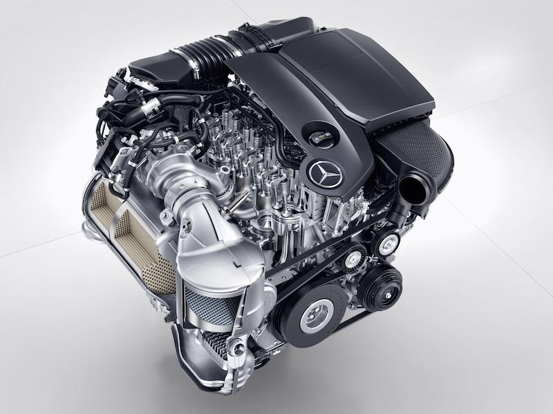 Vierzylinder diesel om 654 des neuen e 220d im detail for Mercedes benz 5 cylinder diesel engine