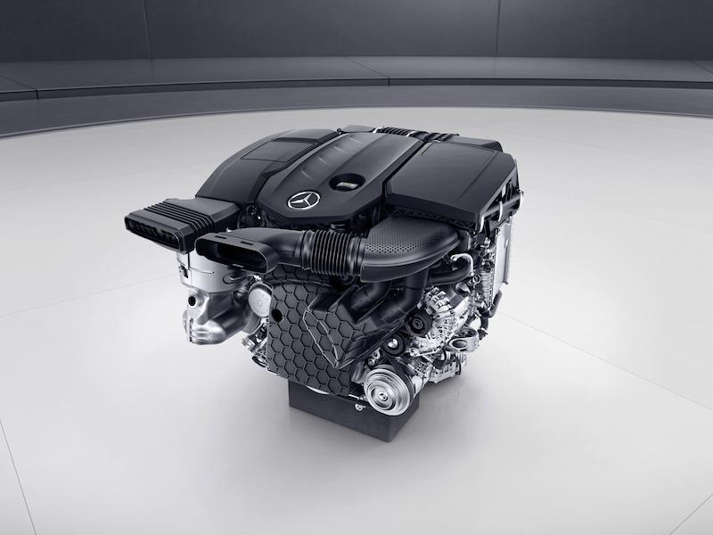 Vierzylinder-Diesel OM 654 des neuen E 220d im Detail -