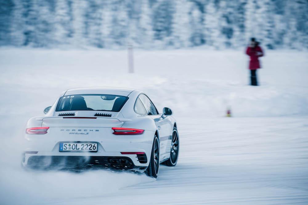Porsche Ice Force Mit 911 Turbo Und Co Vollgas Im Schnee