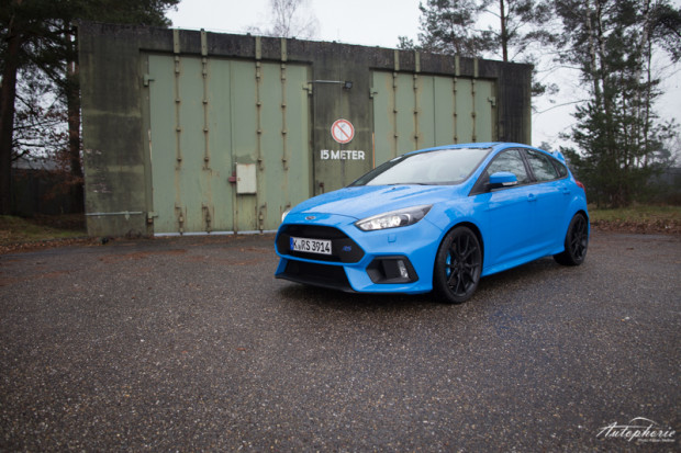 2016 Ford Focus RS Nitrous Blue