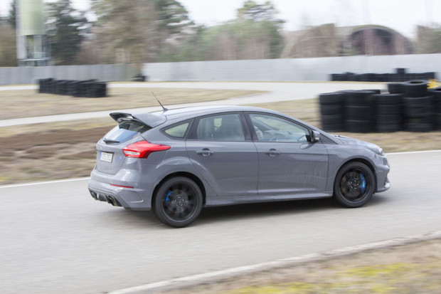 2016 Ford Focus RS Magnetic Grey