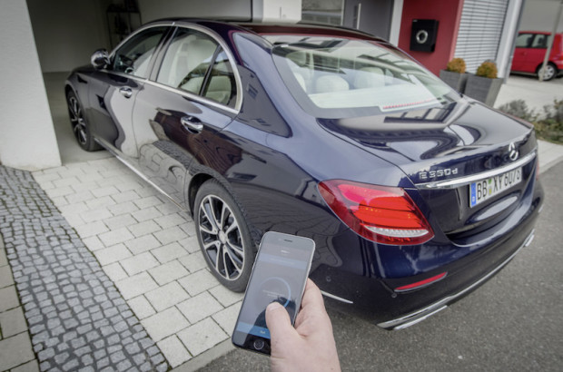 autonome Technik W213 Mercedes Remote Parking