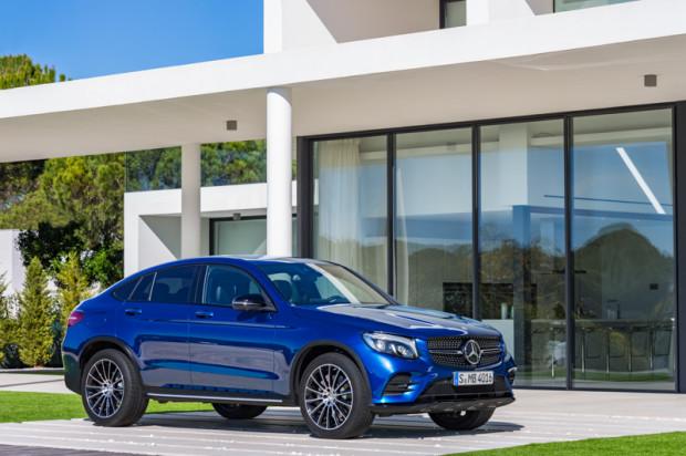 Mercedes Benz GLC Coupé Brilliantblau