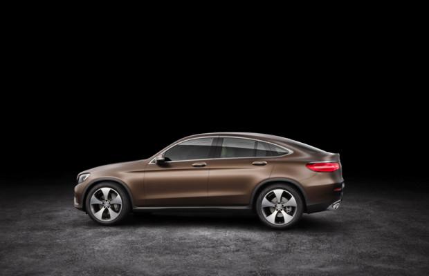 Mercedes Benz GLC Coupé Seitenlinie