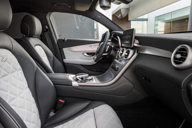 Mercedes Benz GLC Coupé Innenraum