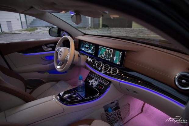 Mercedes E-Klasse W213 Innenraum Ambiente Licht