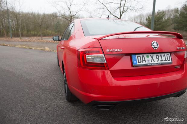 Skoda Octavia RS230 Heck