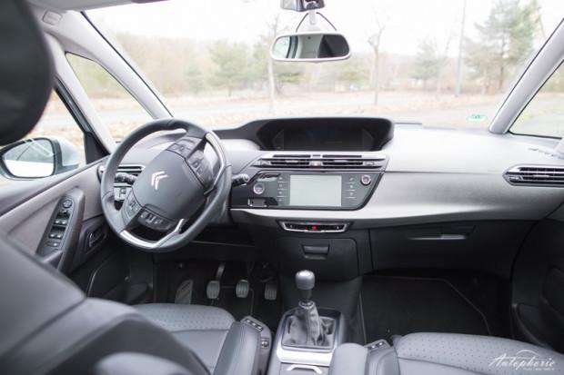 Citroen C4 Picasso Cockpit