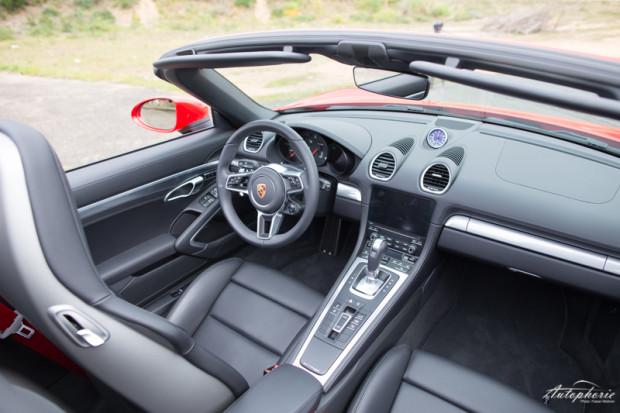 Porsche 718 Boxster Innenraum