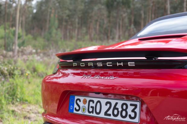 Porsche 718 Boxster Heckspoiler