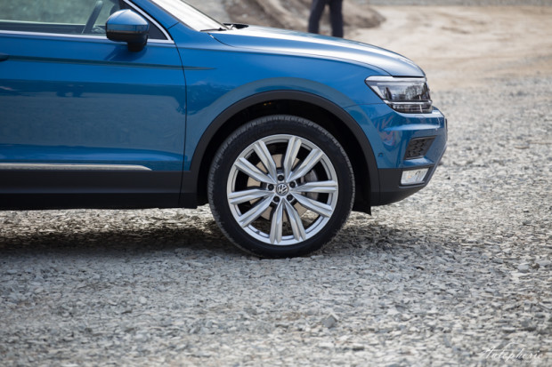 VW Tiguan Offroad Front
