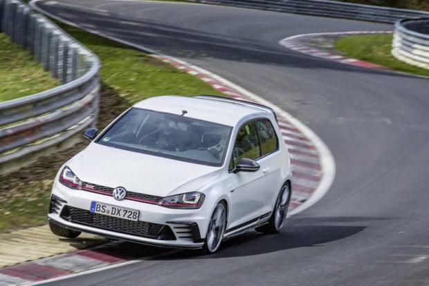 VW Golf GTI Clubsport S Nürburgring Nordschleife