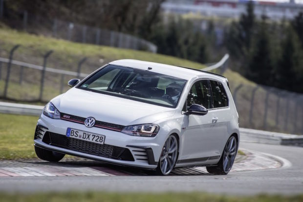 VW Golf GTI Clubsport S Nordschleife