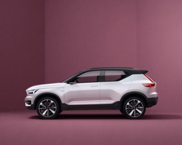 Volvo CMA Plattform Concept Car XC40