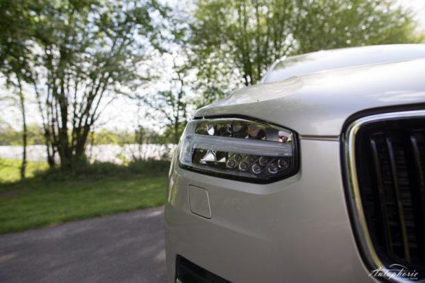 Volvo XC90 D4 Test LED Scheinwerfer