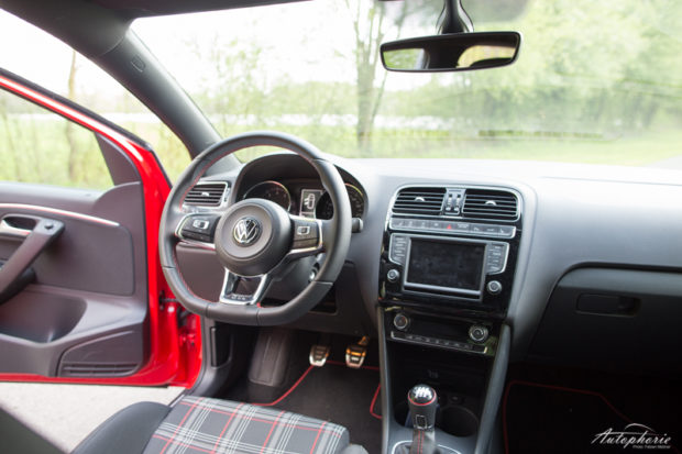 VW Polo GTI 6C Cockpit
