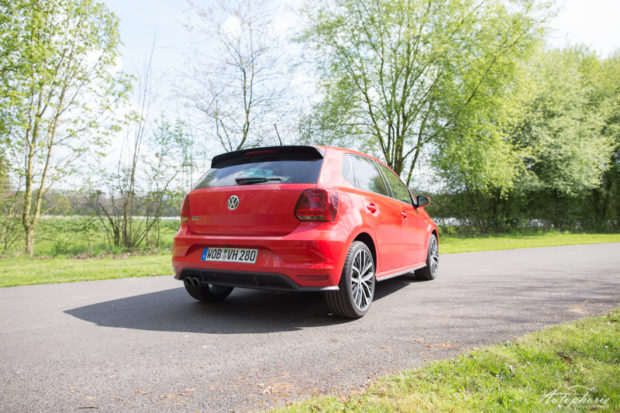 VW Polo GTI Heck