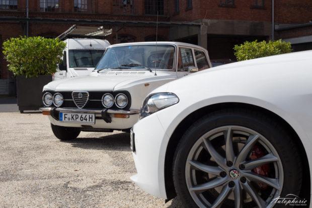 Alfa Romeo Giulia alt und neu