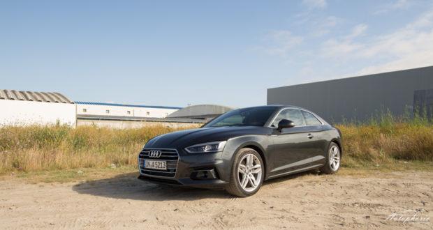 Audi A5 Coupe Grau