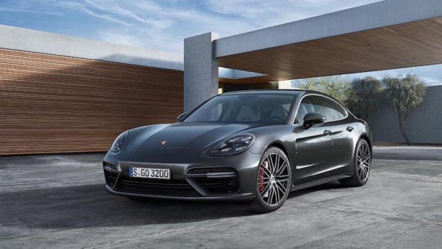 Neuer Porsche Panamera Turbo