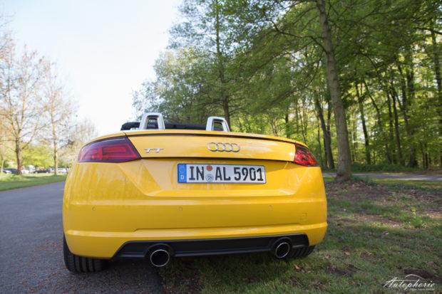 Audi TT Roadster Heck 1.8 TFSI