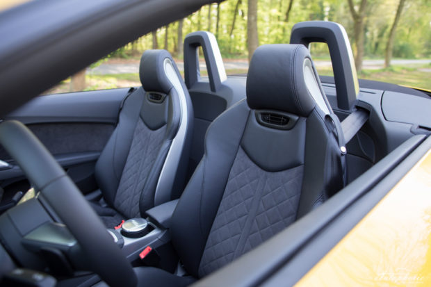Audi TT Roadster S line Sitze