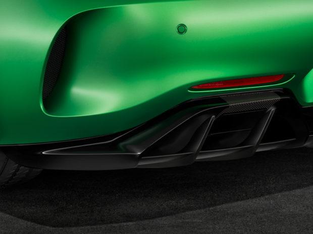 AMG GT R Diffusor