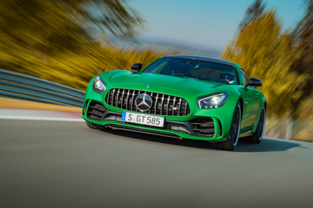 AMG GT R Panamericana Grill